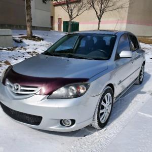 2004 MAZDA 3 GT SPORT HATCHBACK LOW KMS
