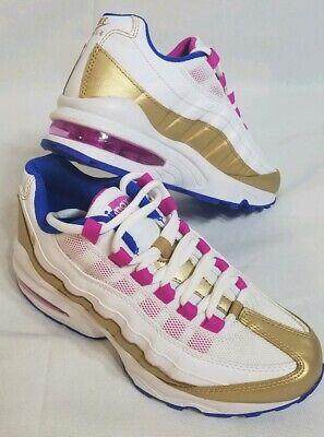NEW Nike Girls Air Max 95 LE GS White