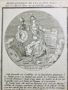 Cocarde-Nationale-1789-Droits-de-l-homme-Constitution-Marianne-Revolution-France