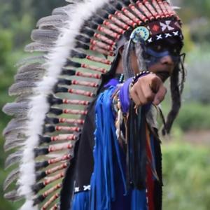 Native American Indian Headdress Custume WarBonnet