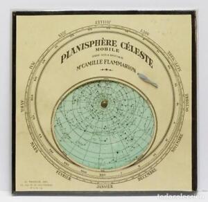 1890c-Flammarion-Buscador-localizador-de-estrellas-Star-finder-Planisferio