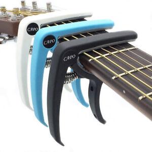 Acoustic-Electric-Guitar-Plastic-Capo-Quick-Tuning-Clamp-Change-Classic-Str-gp