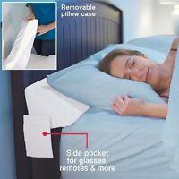 Mattress Wedge King Sleep Bedroom Bed 100% Cotton Cover, Foam Lightweight on Sale