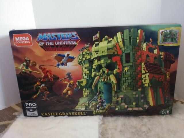 Mattel Mega Construx Probuilder Masters of The Universe Castle Grayskull 3508 PC