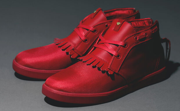 Diamond Supply Co x IBN Jasper rouge Taille 10.5 October Limited Yeezy ST. VALENTINE