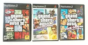 PlayStation-2-Grand-Theft-Auto-3-Vice-City-Stories-Vice-City-Lot-of-3-PS2