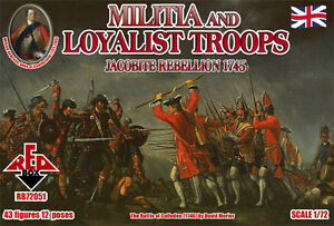 Red Box - Militia And Loyalist Troops - 1:72 Unoemsic-07185415-253824768