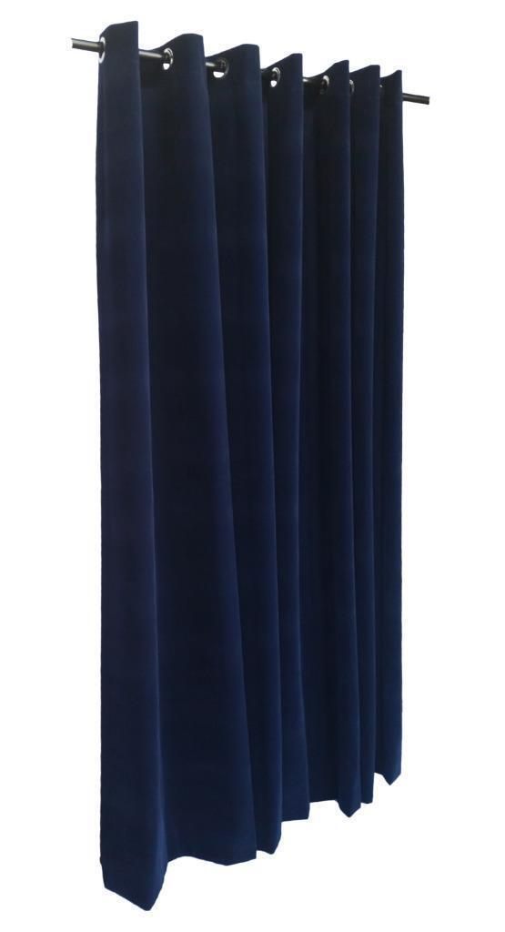 Marineblau 305cm H Samt Vorhang TAFELL M     dichtkörper oberen Ösen Fenster   Niedrige Kosten  3bcaaa