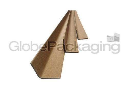 100 x 1M LONG CARDBOARD EDGE GUARDS PALLET PROTECTORS 35mm L PROFILE *24HR DEL*