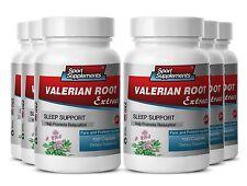 Valerian Extract Capsules - Valerian Root 4:1 125mg - Help Sleeplessness 6B