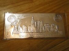 $20 SEPTEMBER 11TH 22KT SILVER LEAF COIN CERTIFICATE