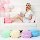 New Creative Macaron Plush Foot Warmer Shoes Heat Slipper Winter Christmas Gift