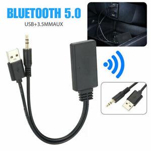 Ricevitore AUX per auto adattatore Bluetooth AUX adattatore per cavo audio BN