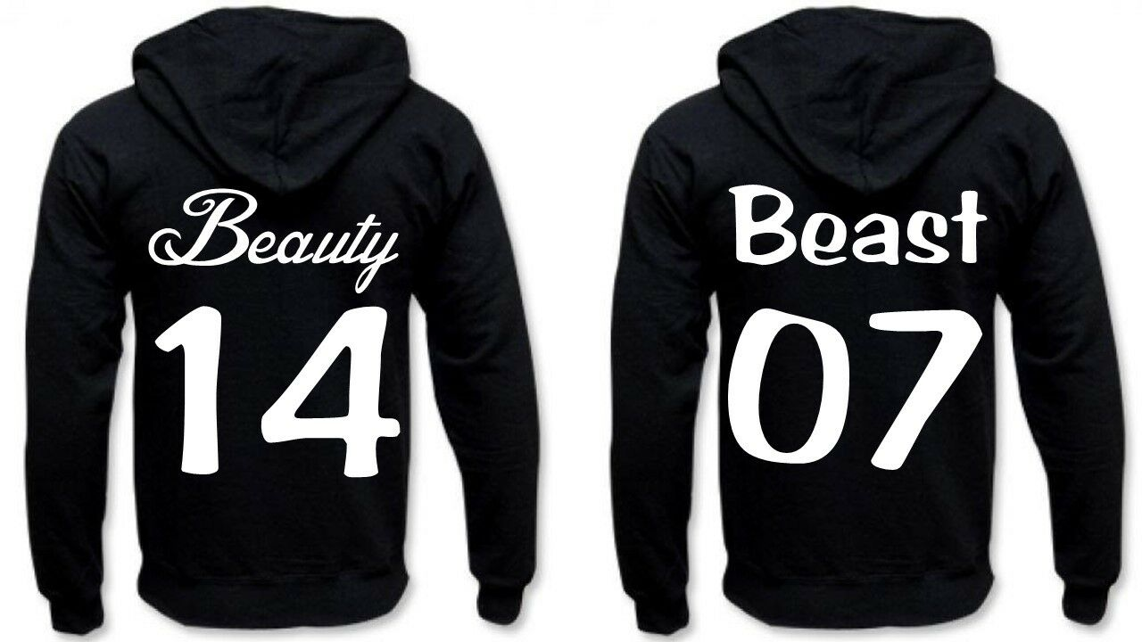 Partner Hoodies - Beauty & Beast.