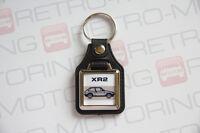 Ford Fiesta Mk2 XR2 Keyring - Leatherette classic retro car keyfob