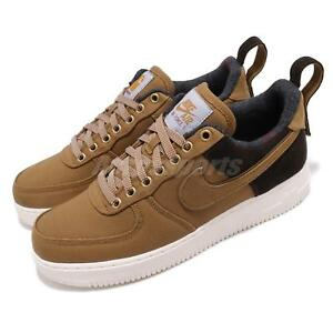 4ae55178c5 Details about Nike Air Force 1 Low Premium X Carhartt WIP Ale Brown Sail  AF1 Shoes AV4113-200