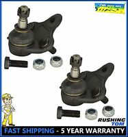 93-95 Toyota Corolla Geo Prizm (2) Front Left & Right Lower Ball Joints