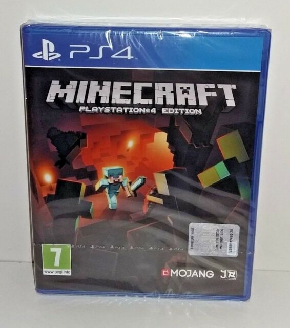 Minecraft PS4 NUOVO SIGILLATO ITA