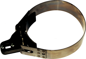 """Heavy Duty Oil Filter Wrench 1.1//2/"""" Wide Band T/&E Tools 4281"""