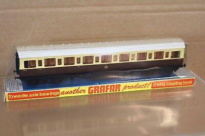 Intelligente Graham Farish Br62w Oo Gw Gwr Crema Cioccolato Mainline Composite Coach 9003 Np Forte Resistenza Al Calore E All'Usura Dura