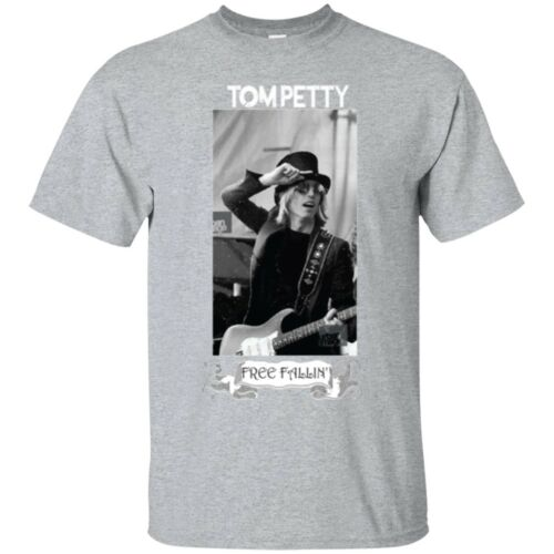 NEW Tom Petty Free Fallin BLACK T Shirt Super Fast Shipping