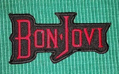Bon Jovi Rockabilia Music band Iron/ Sew-on Embroidered Patch / Badge/ Logo