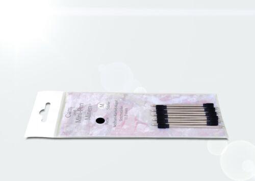 10 x Mini Kugelschreiberminen mini-pen Minen für Cam und MP3-Kugelschreiber