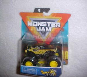 MONSTER-JAM-034-QUEEN-BEE-034-VHTF-NEW-SPIN-MASTER-DIECAST-MONSTER-TRUCKS