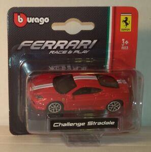Bburago-1-64-Race-Play-Ferrari-Challenge-Stradale-Diecast-Metal