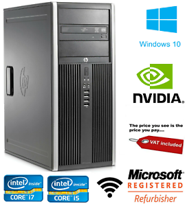 HP-8200-TOWER-DESKTOP-PC-Core-i5-i7-4-16GB-RAM-HDD-SSD-grafica-NVIDIA-WIN-10