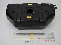 Jeep Wrangler Yj 1987-95 20 Gallon Poly Plastic Gas Tank Kit W/ Hoses & Ck Valve