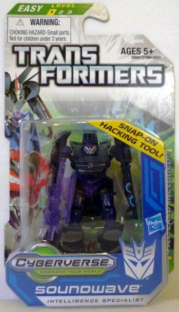 "SOUNDWAVE Transformers Prime Hub Animated Legion Class 3/"" inch Figure #7 2012"