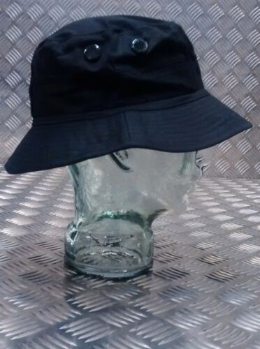 Bush hat Short Brim Stealth Black NEW Military Style Special Forces Boonie Hat