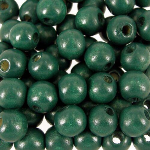 Cuentas de madera Redondo madera 12mm 900 Paquete Craft elige color al por mayor