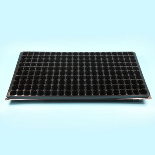 200 Cell Seedling Starter Trays Seed Germination Garden Plant Propagation Pot