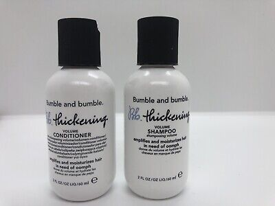Bumble And Bumble Thickening Volume Shampoo Conditioner Travel Size 2 Items 685428027763 Ebay
