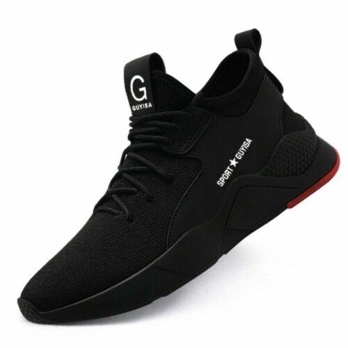 US fashion Homme Steel Toe Cap SAFETY Travail Chaussures Outdoor Chaussures Sport Chaussures De Randonnée