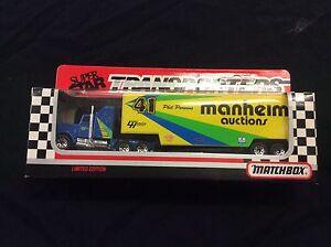 Details about Matchbox Superstar Transporters Manheim Auctions Phil Parsons