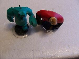 lot of 2 Disney Infinitey Game Figures(Sully and Mr. Incredible ) . Lot #z21