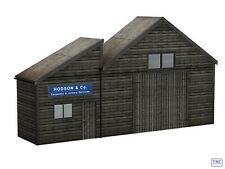 44-268 Scenecraft OO/HO Gauge Low Relief Weather Boarded Warehouse