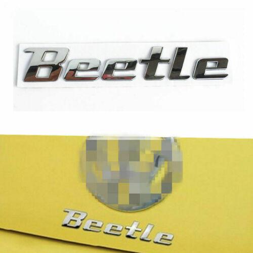 3D Badge For VW Beetle Rear Emblem Car Decal Logo Sticker Chrome Badge