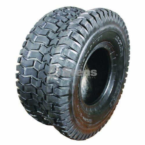 165-050 Stens Lawn Mower Tire Carlisle Turf Saver Tread 15x600x6 2 PlyTubeless