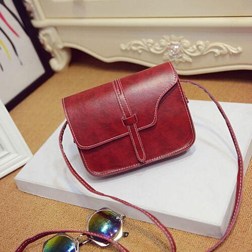 Women Leather Shoulder Bag Crossbody Handbag Tote Satchel Messenger Bag Purse US