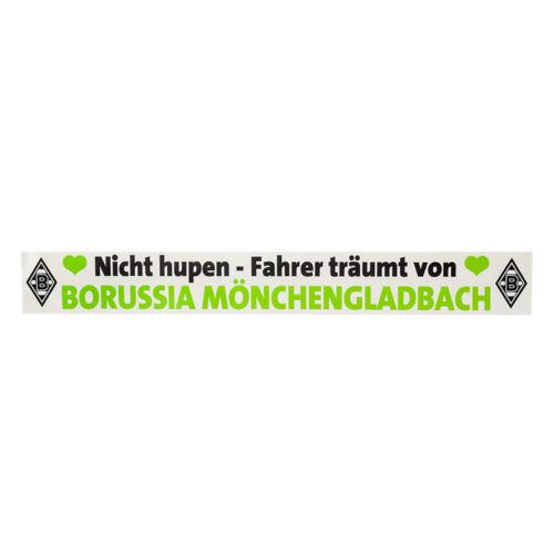 Borussia Mönchengladbach Aufkleber Auto Nich hupen  VFL Fußball-Fanshop