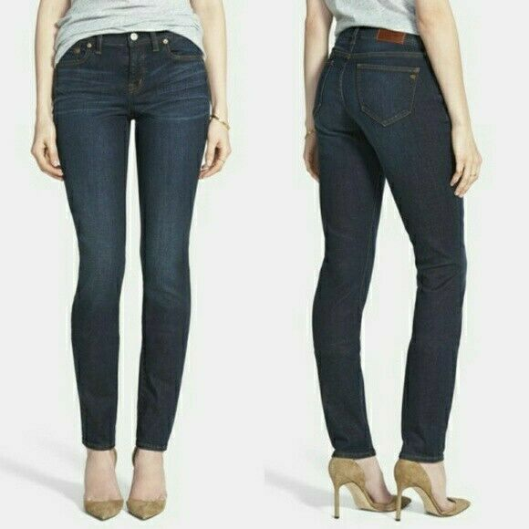 Madewell 'Alley' Straight Leg Stretch bluee Jeans Size 26