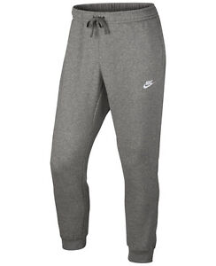 Nike Sportswear Club Fleece Training Pants Men Dark Blue, White