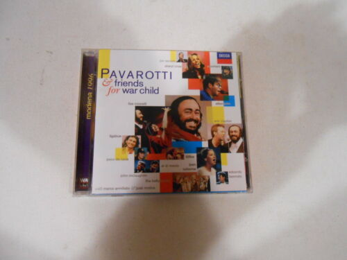 1 of 1 - PAVAROTTI AND FRIENDS-FOR WAR CHILD-CD-NEW-ERIC CLAPTON-ZUCCHERO-ELTON JOHN-1996