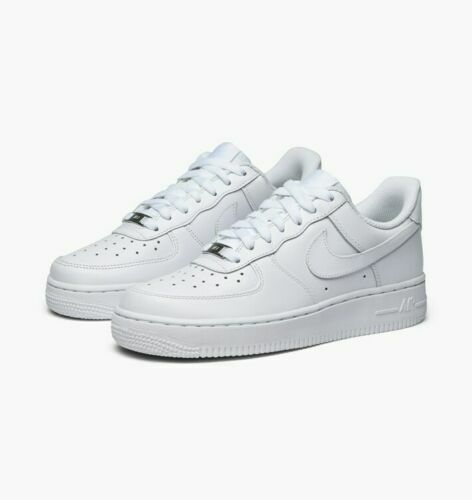 Nike Air Force 1 07 LE Low All Triple White 315115-112 UNISEX SHOES