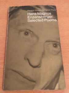 Details About Poems Of Hans Magnus Enzensberger Translated By Michael Hamburger 1968