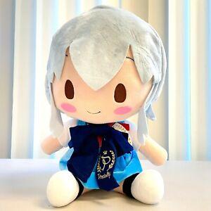 Sega Neon Genesis Evangelion EVA Anime Preciality Plush Doll Rei Sitting SG2151